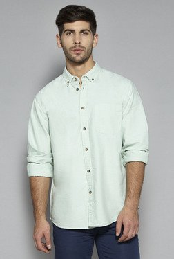 Westsport by Westside Mint Green Relaxed Fit Shirt