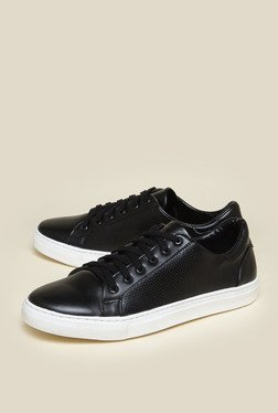 Zudio Black Low Top Sneakers