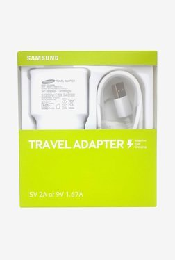 Samsung EP-TA20IWEUGIN 2.0 Amp Travel Adapter (White)