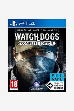 Watch Dogs Complete Edition for PlasyStation 4 TATA CLiQ deals