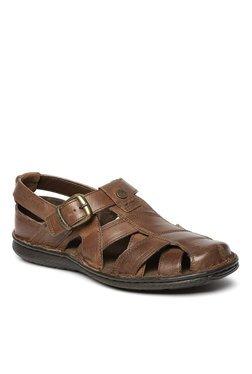 Buckaroo Blaze Dark Brown Fisherman Sandals