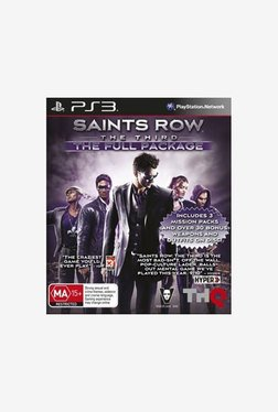 Saints Row The Third The Full Package (PS3)