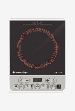 Bajaj Majesty ICX Pearl 1900 W Induction Cooktop (Black)