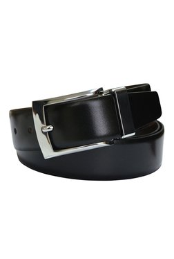 Cross Black Leather Cut-To-Fit Reversible Belt - Mp000000001405913