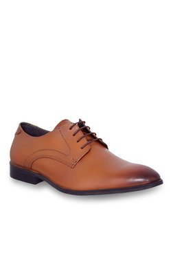 Allen Cooper Tan Derby Shoes