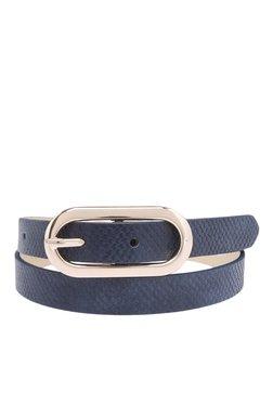 Vero Moda Ladha Navy Blazer Textured Belt