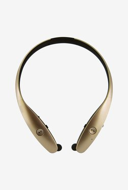 MDI HBS-900 Bluetooth Headphone with Microphone (Gold)