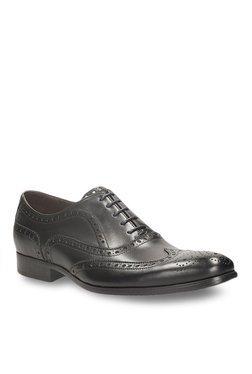 Clarks Banfield Limit Black Brogue Shoes