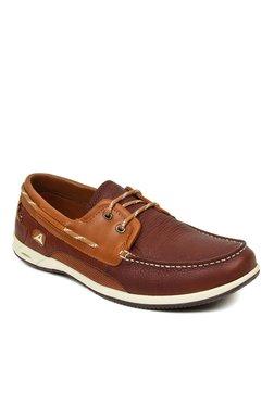 Clarks Orson Harbour Dark Brown & Tan Boat Shoes