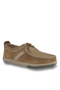 e36bbdf6c44 Woodland Camel Casual Shoes