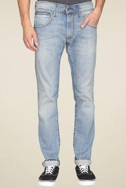 Levi's Light Blue Lightly Washed Slim Fit Jeans