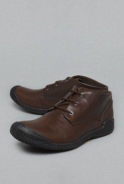 David Jones By Westside Brown Chukka Boots