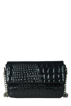 Cross Merida Black Textured Sling Bag