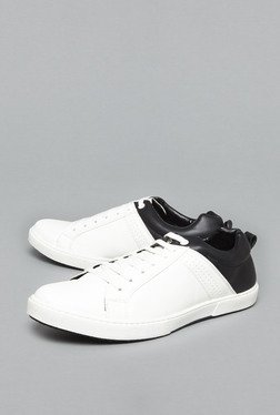 Azzurro by Westside White & Black Sneakers