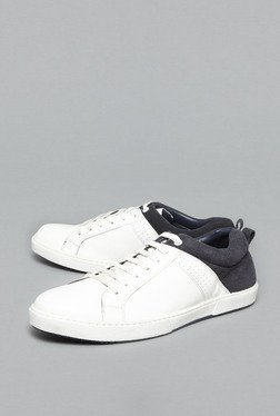 Azzurro by Westside Grey & White Sneakers