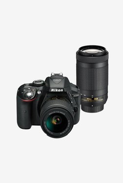 Nikon D5300 with (AF-P 18-55mm VR + 70-300mm VR Lens) DSLR Camera