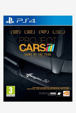 Project CARS Game Of The Year Edition (PlayStation 4)
