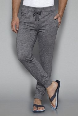 Bodybasics by Westside Grey Textured Joggers