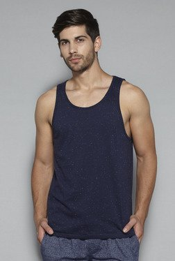 Bodybasics By Westside Navy Printed Tank