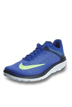 Nike FS Lite Paramount Blue & Ghost Green Running Shoes