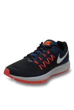 Nike Air Zoom Navy & Orange Running Shoes