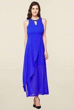 AND Ink Blue Embellished Dress