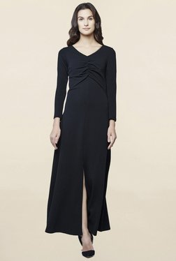 AND Black Maxi Dress - Mp000000001436775