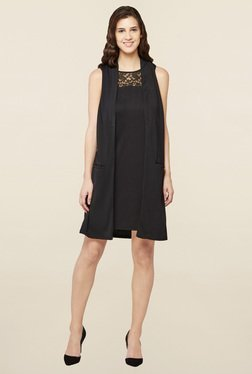 AND Black Lace Dress - Mp000000001437097
