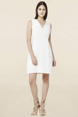 AND Off White Shift Dress