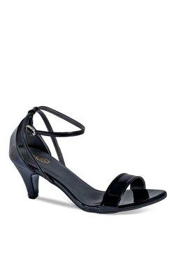 1b572e63c7a15 La Briza Black Ankle Strap Sandals