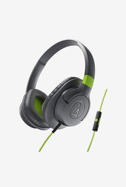 Audio-Technica AX1iS SonicFuel On-Ear Headphone (Grey)
