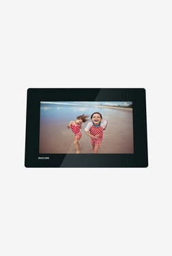 "Philips 10"" LCD Photo Frame (Black)"