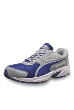 Puma Adamo IDP Quarry & Mazarine Blue Running Shoes