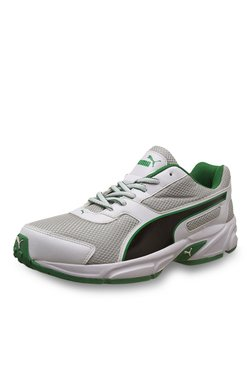 Puma Adamo IDP Quarry & White Running Shoes