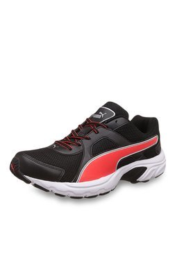 Puma Aiko IDP Black & Red Blast Running Shoes