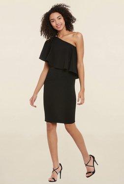 Femella Black Ruffle Dress