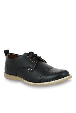 Shoe Sense Classic Black Derby Shoes
