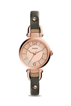 Fossil ES3862 Georgia Analog Watch For Women