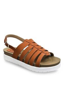 Vapr Dark Tan Fisherman Sandals