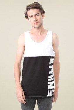 People White Round Neck Printed T-Shirt