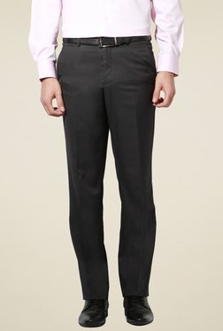 db73abfee4b028 Buy Van Heusen Trousers - Upto 70% Off Online - TATA CLiQ