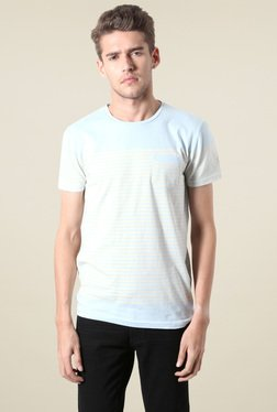 People Baby Baby Blue Striped T-Shirt