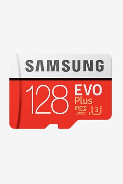 Samsung EVO Plus MB-MC128GA/IN 128 GB SDXC MicroSD Card