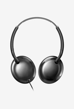 Philips SH4405BK On Ear Headphones With Mic (Black)