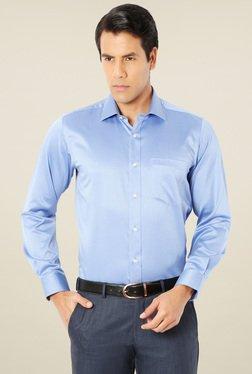 Van Heusen Pale Blue Comfort Fit Cotton Shirt
