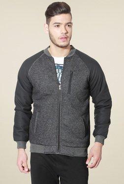 People Grey Full Sleeves Jacket