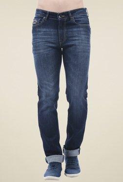 Pepe Jeans Yale Blue Slim Fit Cotton Jeans