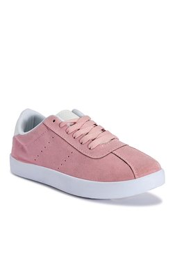 Truffle Collection Pink & White Sneakers