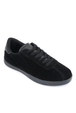 Truffle Collection Velvet Black Sneakers