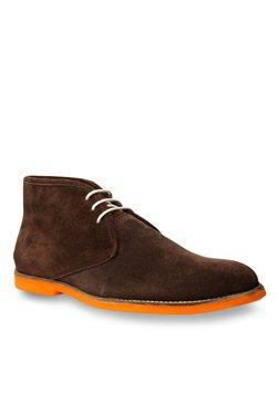 Footin By Bata Brown Chukka Boots